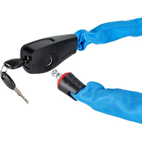 ABUS Catena 6806 Chain Lock 75cm, neon blue